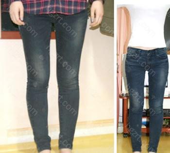 手术后 现在能穿个紧身裤啦! 手术前我穿了28英寸的裤子,手术后穿个26英寸的!哈哈