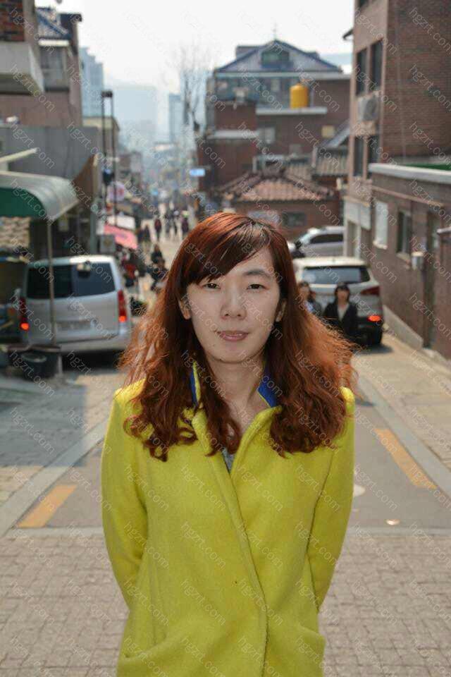 这张是在韩国走访医院时候拍的