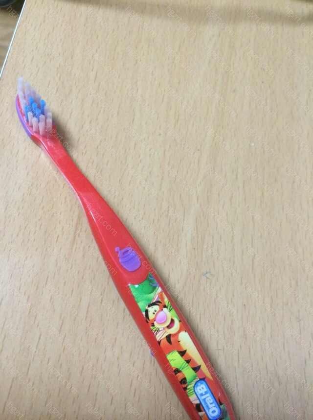 每天刷牙好几次