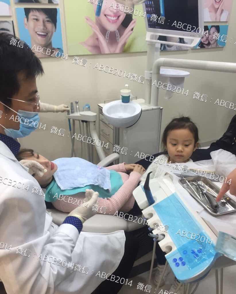 隐形牙齿矫正是什么,李小璐带着女儿小甜馨来到我们医院做隐形牙齿矫正!