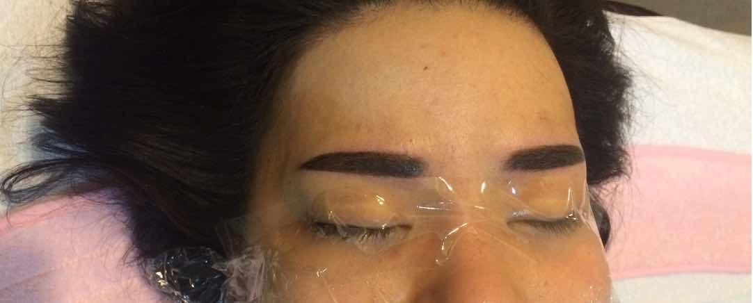 半长期纹眉需要多长时间恢复自然,半长期眉毛 做完当天和 5天以后 变的 很自然~