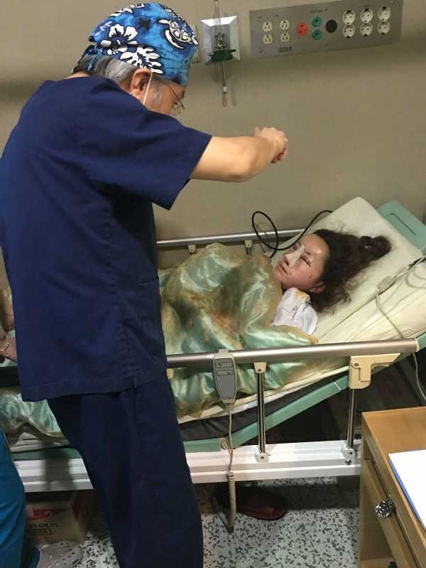 韩国新帝瑞娜郑院长亲自做面部脂肪填充的效果案例图