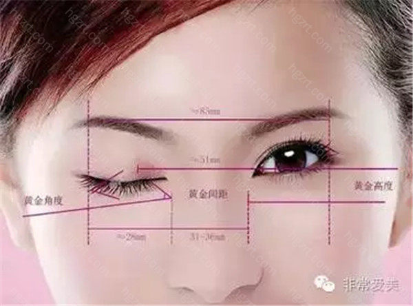 3.术前要考虑皮肤弹性,脂肪厚度,泪腺等等; 4.双眼皮的审美设计也很关键,理想的双眼皮有增大眼睛,上翘睫毛,改善上眼皮肤等综合效果。