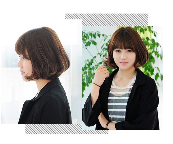 嫌头发又热又燥?跟着麻豆们剪可爱的齐刘海短发吧!
