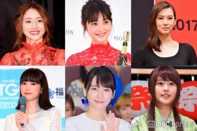 日本最想整容成的女星排行榜 first名竟然是她