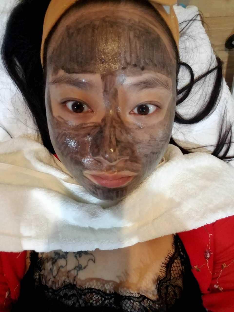 对北京欧华黑脸娃娃祛斑的效果特别心水。