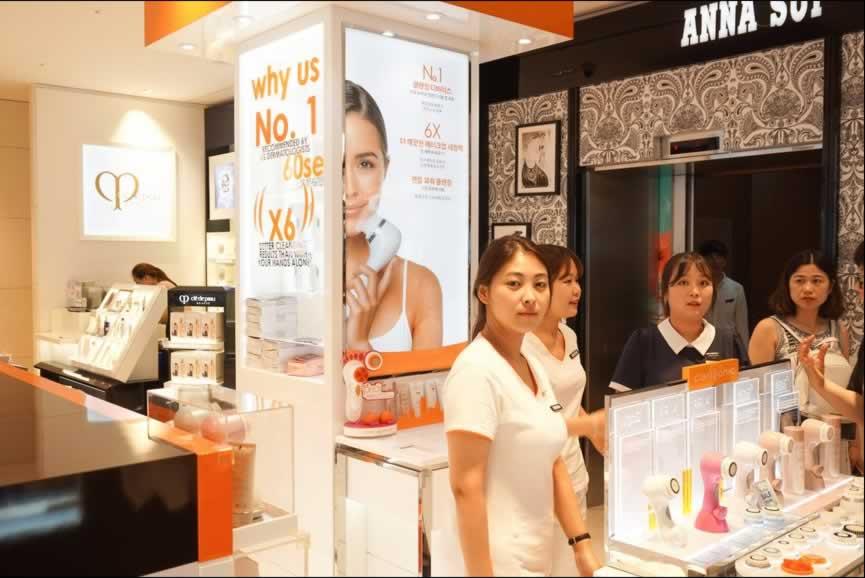 韩国首尔新罗免税店,新罗是每个去韩国购物者的必去之地