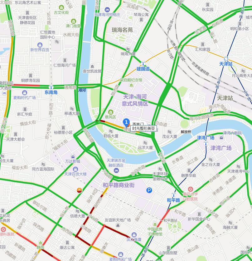 天津时光整形美容医院好吗地址哪条路?