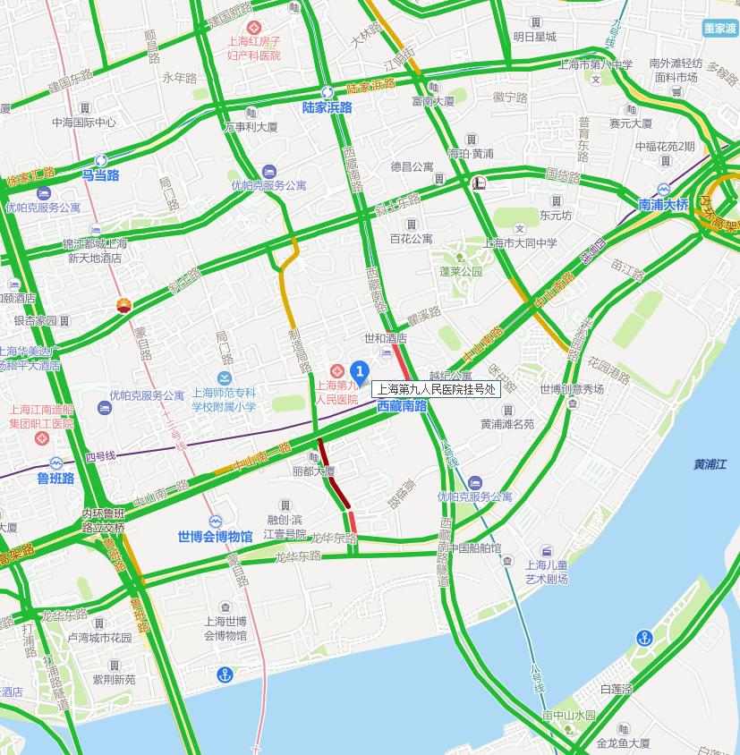 上海第九人民医院整形科好吗地址哪条路?