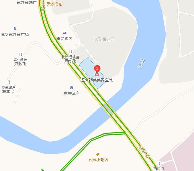 遵义韩美整形美容医院好吗地址哪条路?
