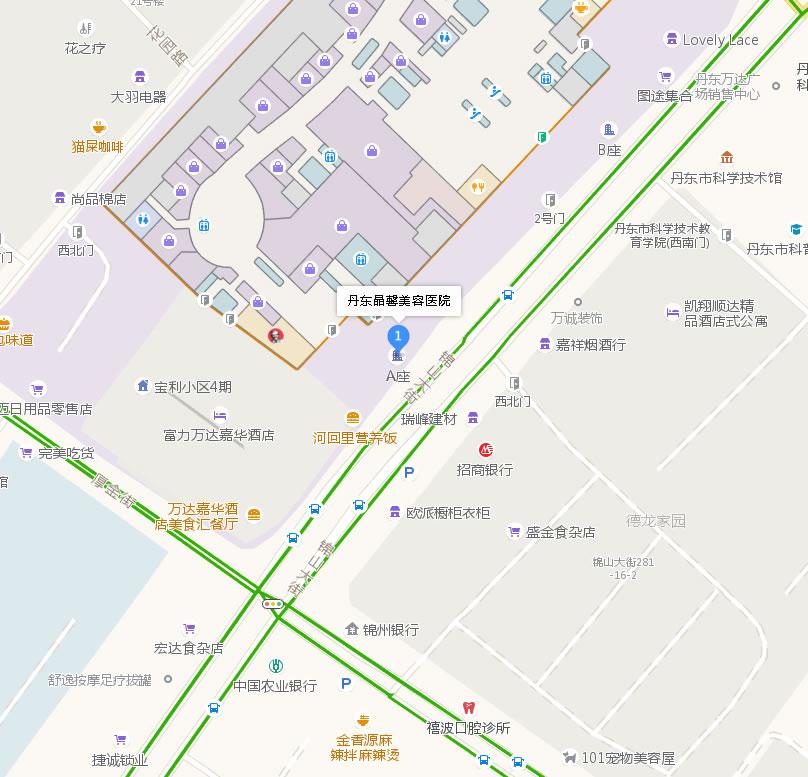 丹东晶馨美容医院好吗地址哪条路?
