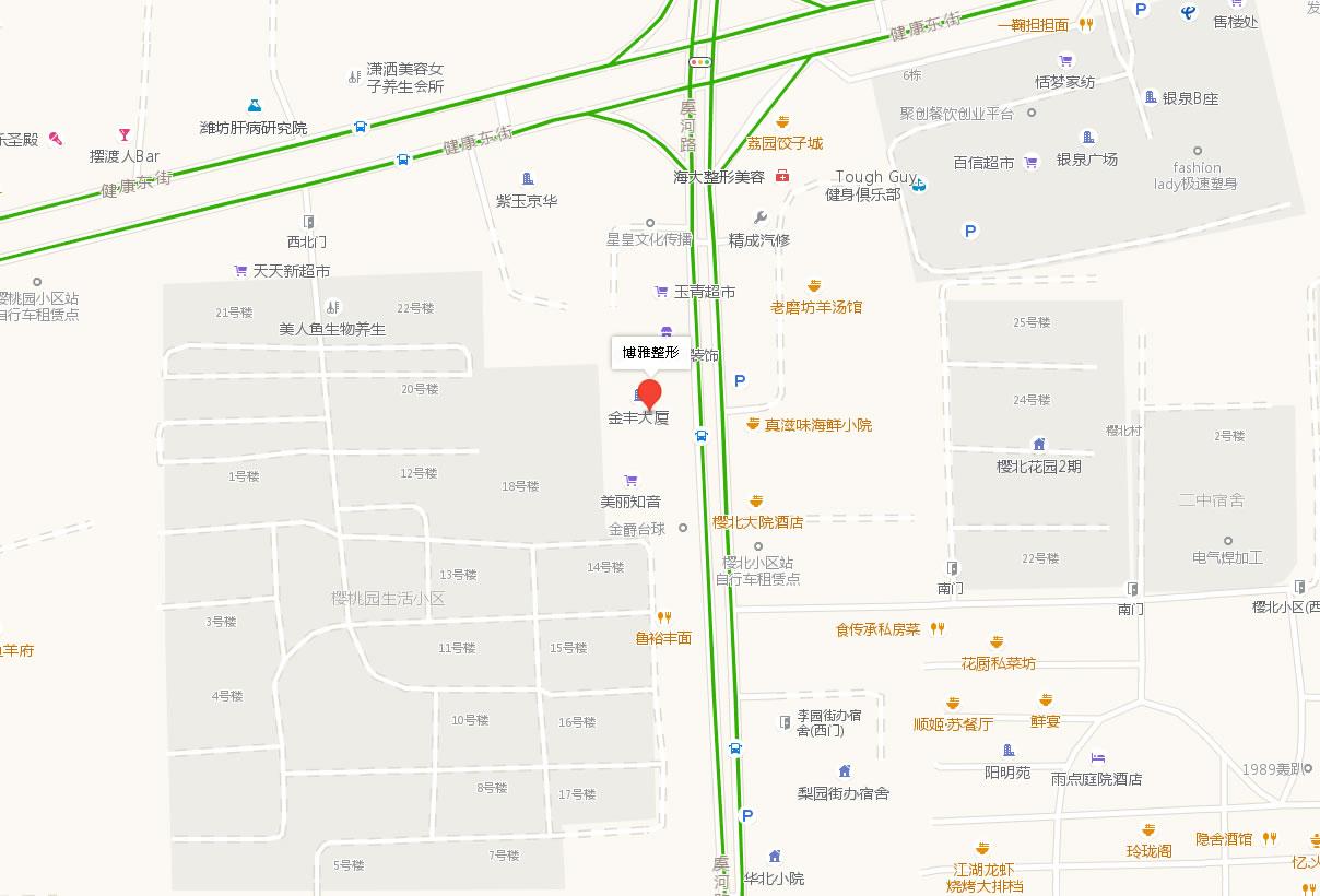 潍坊博雅整形美容医院好吗地址哪条路?