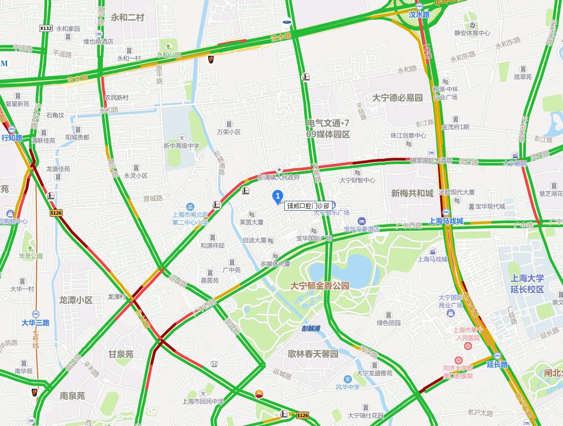 上海臻威口腔门诊部好吗地址哪条路?