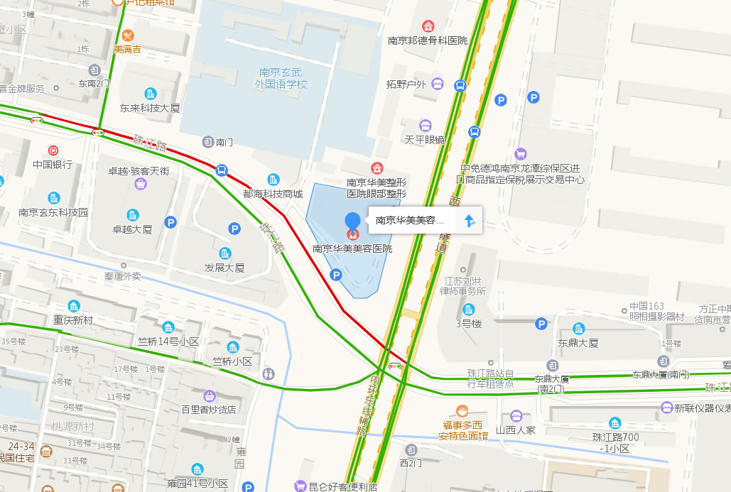 南京华美医美容医院好吗地址哪条路?