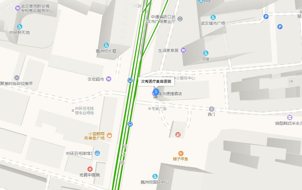 武汉汉秀整形医院好吗地址哪条路?