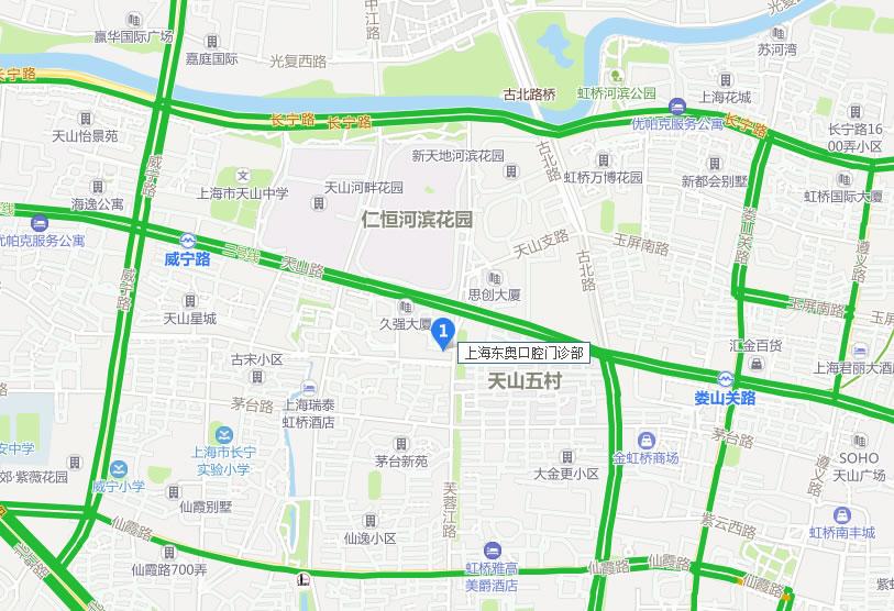 上海东奥口腔门诊部好吗地址哪条路?