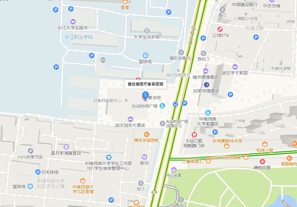 武汉一加一整形医院好吗地址哪条路?