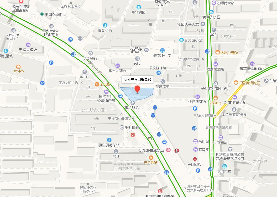 长沙中诺口腔医院好吗地址哪条路?