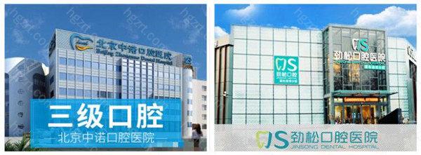 你知道北京劲松口腔医院和中诺口腔医院哪家好吗?我们该从哪些方面做比较