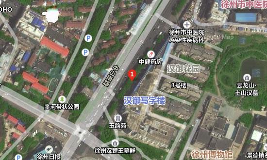 徐州云龙予美医疗美容诊所地址卫星地图