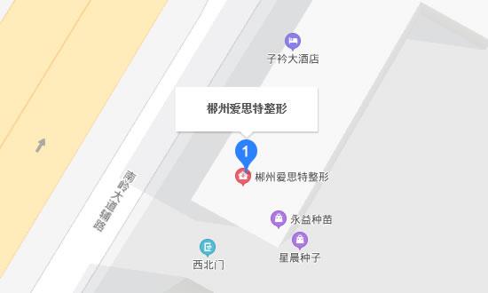 郴州爱思特整形地址