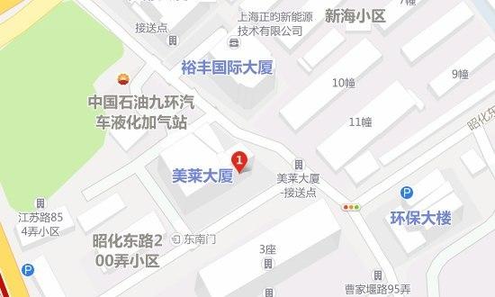 上海美莱医疗美容门诊部地址地图