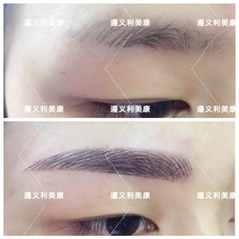 韩式半长期纹眉疼不疼啊?